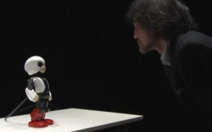 Présentation du petit robot Kirobo