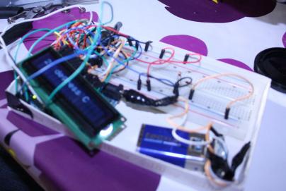 Montage d'un thermomètre électronique réalisé avec Arduino